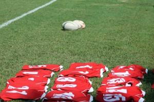 Jerseys On Pitch